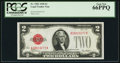 Small Size:Legal Tender Notes, Fr. 1501 $2 1928 Legal Tender Note. PCGS Gem New 66PPQ.. ...