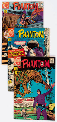 Phantom Group of 33 (Charlton, 1969-77) Condition: Average VF.... (Total: 33 Comic Books)