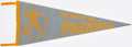 Football Collectibles:Others, c. 1950s Green Bay Packers Pennant. . ...