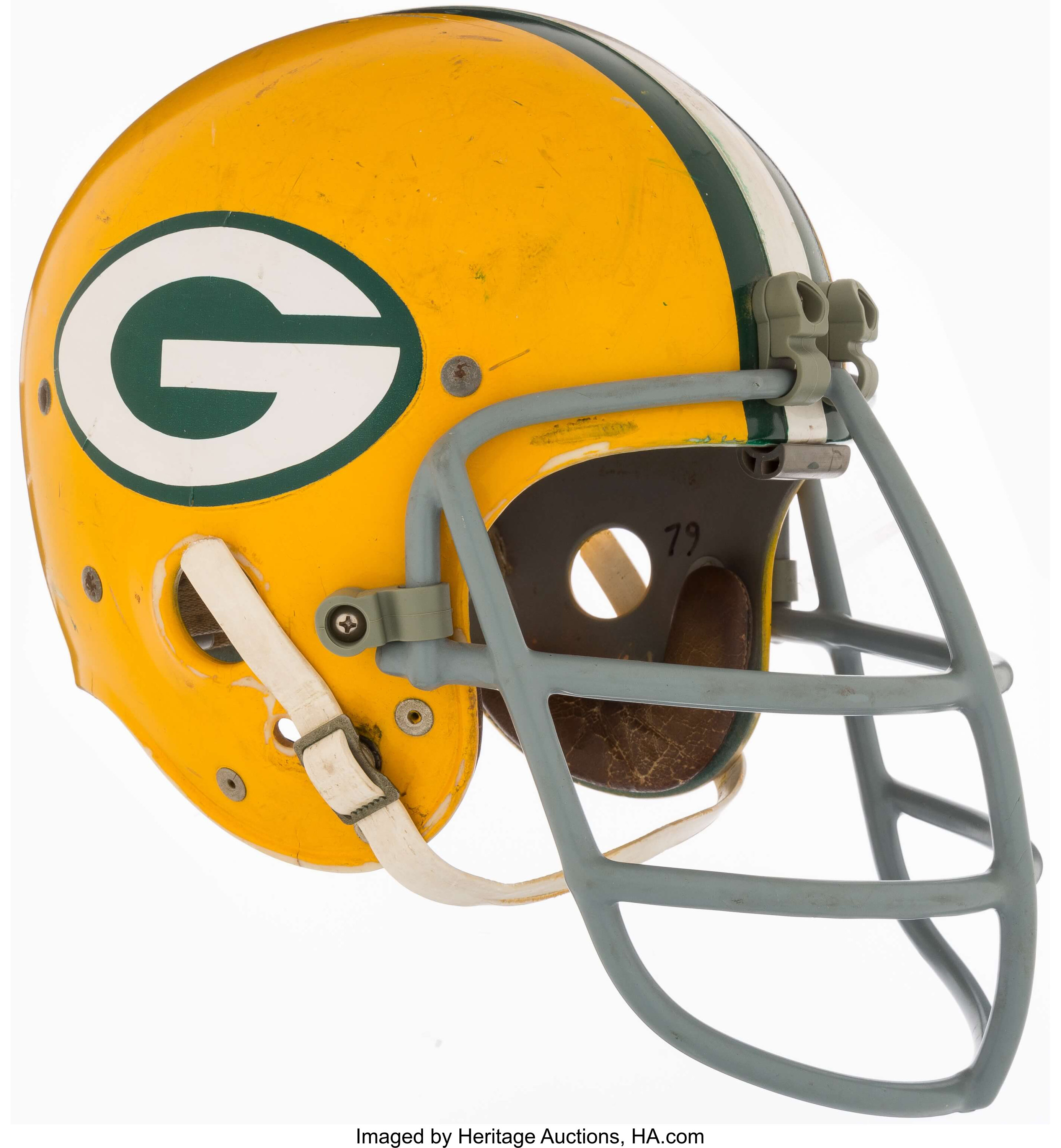 1960 S Green Bay Packers Vintage Helmet Football Collectibles Lot 43229 Heritage Auctions