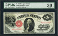 Large Size:Legal Tender Notes, Fr. 39 $1 1917 Legal Tender PMG Very Fine 30....