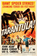 "Movie Posters:Science Fiction, Tarantula (Universal International, 1955). One Sheet (27"" X 41"")Reynold Brown Artwork.. ..."