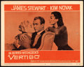 "Movie Posters:Hitchcock, Vertigo (Paramount, 1958). Lobby Card (11"" X 14"").. ..."