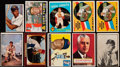 Baseball Cards:Lots, 1950 - 1969 Topps/Fleer/Bowman Baseball card Collection (200+). ...