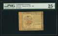 Continental Currency January 14, 1779 $40 PMG Very Fine 25 Net