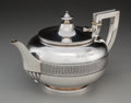 Silver & Vertu:Hollowware, An Important Tiffany & Co. Silver Teapot Made with Silver from the Comstock Lode, New York City, circa 1865. Marks: (double ...