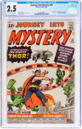 Silver Age (1956-1969):Superhero, Journey Into Mystery #83 (Marvel, 1962) CGC GD+ 2.5 Off-white to white pages....