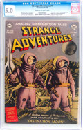 Golden Age (1938-1955):Science Fiction, Strange Adventures #1 (DC, 1950) CGC VG/FN 5.0 Cream to off-whitepages....