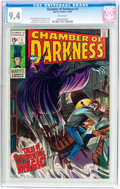 Silver Age (1956-1969):Horror, Chamber of Darkness #1 (Marvel, 1969) CGC NM 9.4 White pages....