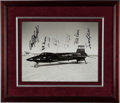 Autographs:Celebrities, Neil Armstrong and Six Additional X-15 Pilots Signed Large Photo inFramed Display. ...