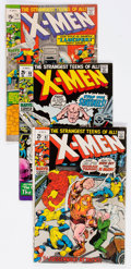 Bronze Age (1970-1979):Superhero, X-Men Group of 55 (Marvel, 1971-75) Condition: Average FN....(Total: 55 Comic Books)