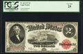 Large Size:Legal Tender Notes, Fr. 60 $2 1917 Legal Tender PCGS Very Fine 25....