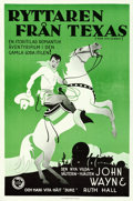 "Movie Posters:Western, Ride Him, Cowboy (First National, 1932). Swedish One Sheet (23.25"" X 34.5"").. ..."