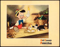 "Movie Posters:Animation, Pinocchio (RKO, 1940). Lobby Card (11"" X 14"").. ..."