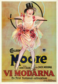 "Movie Posters:Comedy, We Moderns (First National, 1926). Swedish One Sheet (24.5"" X35.25"").. ..."