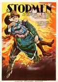 "Movie Posters:Drama, The Storm (Universal, 1922). Swedish One Sheet (24"" X 33.25"").. ..."
