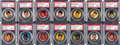 """Baseball Cards:Singles (1950-1959), 1956 Topps Pins Baseball Complete Set (60) - #3 """"Current F..."""