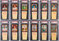 "Baseball Cards:Sets, 1958 Hires Root Beer Partial Set (24) - From the #1 ""All T..."