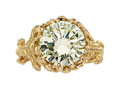 Estate Jewelry:Rings, Diamond, Gold Ring, Julius Cohen. ...