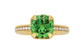 Estate Jewelry:Rings, Demantoid Garnet, Gold Ring, Markin . ...