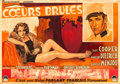 "Movie Posters:Romance, Morocco (Paramount, 1931). French Horizontal Double Grande (55.5"" X89.5"") Roger Soubie Artwork.. ..."