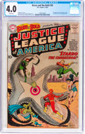Silver Age (1956-1969):Superhero, The Brave and the Bold #28 Justice League of America (DC, 1960) CGCVG 4.0 Cream pages....