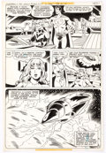 Original Comic Art:Panel Pages, Joe Staton and Dave Hunt Superboy and the Legion ofSuper-Heroes #252 Story Page 13 Mon-El O...