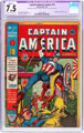 Captain America Comics #14 (Timely, 1942) CGC Apparent VF- 7.5 Slight (C-1) Cream to off-white pages