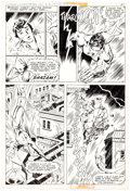 Don Newton and Dave Hunt World's Finest #260 Story Page 7 Captain Marvel Origina Comic Art