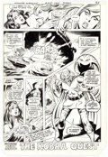 Original Comic Art:Panel Pages, José Delbo and Dave Hunt Wonder Woman #275 Story Page 17Cheetah Original Art (DC, 1981)....
