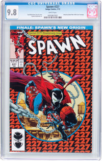 Spawn #227 (Image, 2013) CGC NM/MT 9.8 White pages