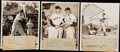 Baseball Collectibles:Photos, 1942-1954 Ted Williams Type I Photo Lot of 11.. ...