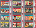 "Olympic Cards:General, 1954 Quaker Oats ""Sports Oddities"" Complete Set (27) - Tied #1 onthe ""All-Time Finest list on the PSA Set Registry! ..."