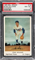 Baseball Cards:Singles (1960-1969), 1960 Bell Brand Dodgers Stan Williams #16 PSA NM-MT 8 - No...