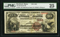 National Bank Notes:Maine, Rockland, ME - $10 1882 Brown Back Fr. 482 The Rockland NB Ch. #1446. ...