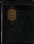 """Football Collectibles:Publications, 1927 Notre Dame """"The Dome"""" Yearbook, with Knute Rockne.. ..."""