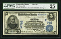 National Bank Notes:Maine, Waterville, ME - $5 1902 Date Back Fr. 590 The Ticonic NB Ch. #(N)762. ...
