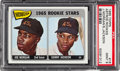 Baseball Cards:Singles (1960-1969), 1965 Topps Joe Morgan - Astros Rookies #16 PSA Mint 9....