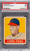 Baseball Cards:Singles (1940-1949), 1948 Leaf Satchel Paige #8 PSA NM 7....