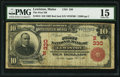 National Bank Notes:Maine, Lewiston, ME - $10 1902 Red Seal Fr. 613 The First NB Ch. # (N)330....