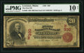 National Bank Notes:Maine, Lewiston, ME - $20 1902 Red Seal Fr. 639 The First NB Ch. # (N)330....