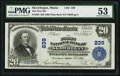 National Bank Notes:Maine, Skowhegan, ME - $20 1902 Plain Back Fr. 650 The First NB Ch. # 239....