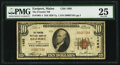 National Bank Notes:Maine, Eastport, ME - $10 1929 Ty. 1 The Frontier NB Ch. # 1495. ...