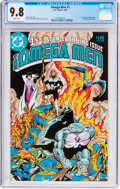 Modern Age (1980-Present):Science Fiction, The Omega Men #1 (DC, 1983) CGC NM/MT 9.8 White pages....
