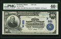 National Bank Notes:Maine, Portland, ME - $10 1902 Plain Back Fr. 624 The First NB Ch. # (N)221. ...