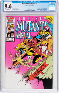 New Mutants Annual #2 (Marvel, 1986) CGC NM+ 9.6 White pages