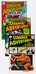 Silver Age (1956-1969):Science Fiction, Strange Adventures #180-190 Group (DC, 1965-66) Condition: Average FN-.... (Total: 11 Comic Books)