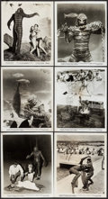 """Movie Posters:Horror, Revenge of the Creature (Universal International, 1955). Photos(10) (8"""" X 10""""). Horror.. ... (Total: 10 Items)"""