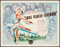 "Lake Placid Serenade (Republic, 1944). Half Sheet (22"" X 28""). Musical"