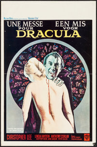 "Taste the Blood of Dracula (Warner Brothers, 1970). Belgian (14"" X 21.5""). Horror"